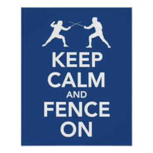 Keep Calm_fence on
